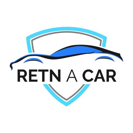 car rental and sales Illustration