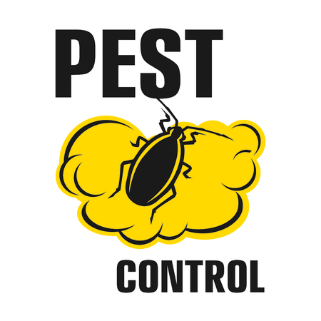 Vector logo for pest and insect control company Logo