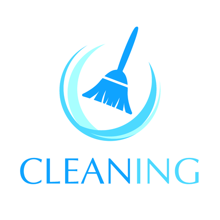 vector logo of cleaning service