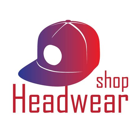 vector for store hats and caps