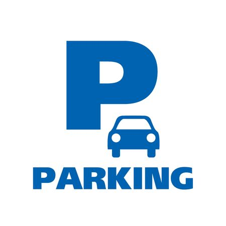 Vector of car Parking zone Banco de Imagens - 130717752