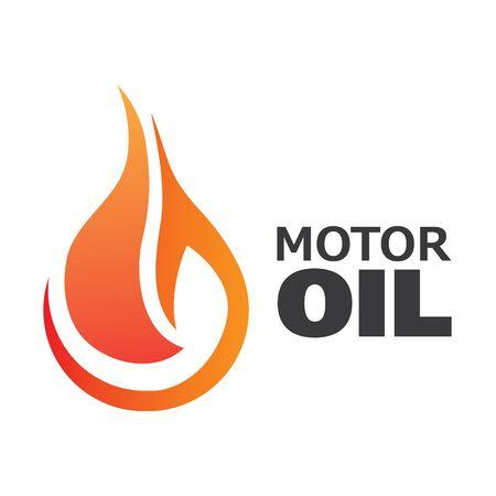 Vector illustration of engine oil