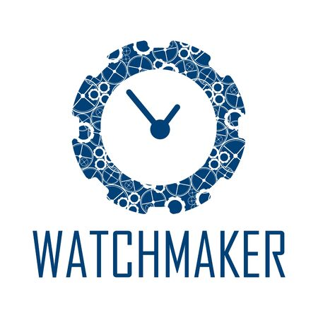 Vector for watchmaker and clockmaker