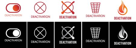 The deactivation and inactivity sign