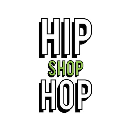 The hip hop clothing store icon