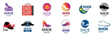 Vector logo for shoes store