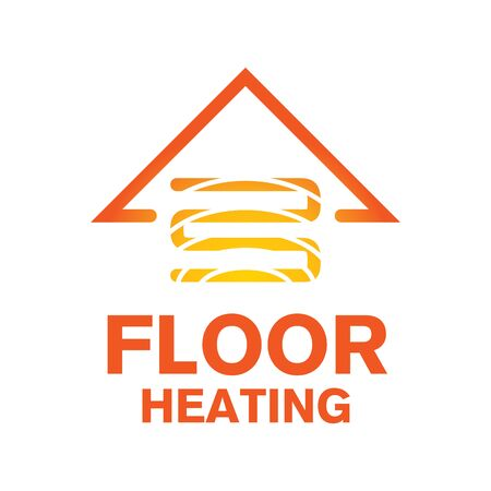 Vector logo of Underfloor heating