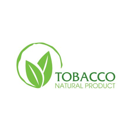Vector logo for natural tobacco products