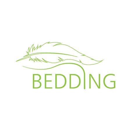 Vector logo of bed linen