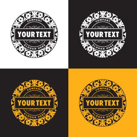 concept vintage logo Illustration
