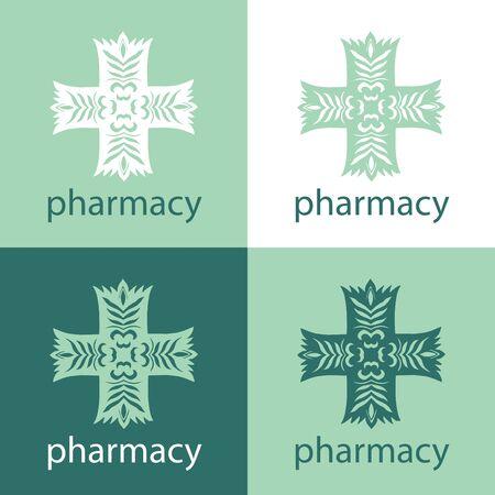 Green medicine logo Stock Vector - 18546066