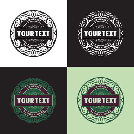 logo printing Vector