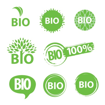 bio icon Stock Vector - 18563882