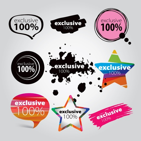 icons exclusive Stock Vector - 18563874