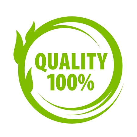 mark of outstanding quality Illustration