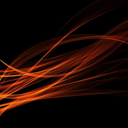 abstract background fiery illusion Stock Photo