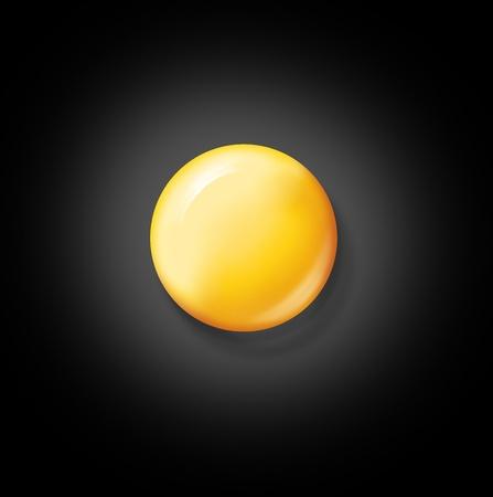 egg on a black background Stock Photo - 18563581