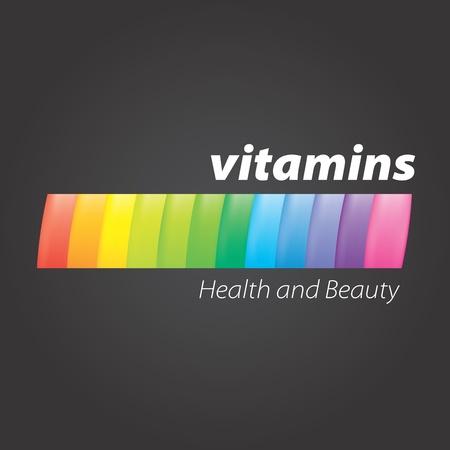 spectral logo Stock Vector - 18587830