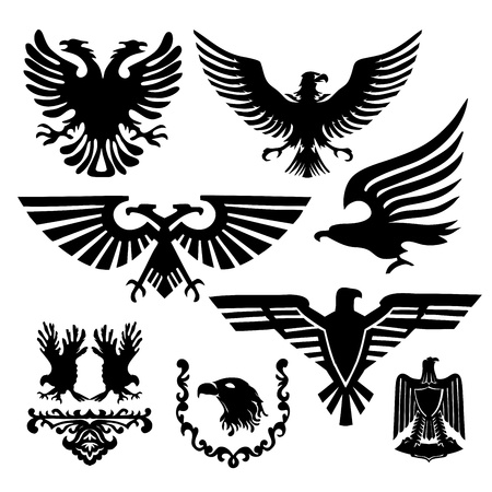 eagle: coat of arms with an eagle