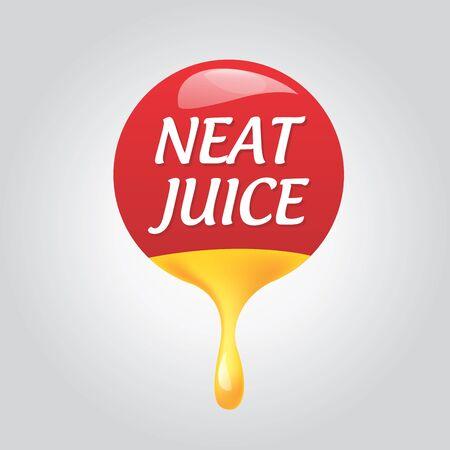 icon natural taste Illustration