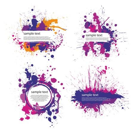 color index blot Illustration