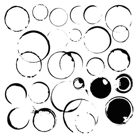 ink stains paint ring Stock Vector - 18705880