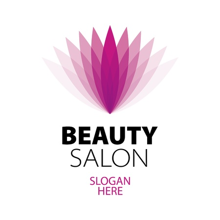 abstract logo beauty salon Stock Vector - 19910787