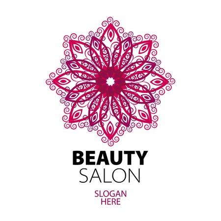 logotipo abstracto: logo encaje abstracto para sal�n de belleza