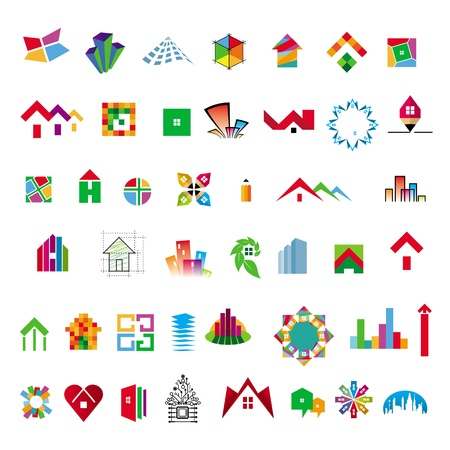 accomplishment: collection of icons construction and home improvement
