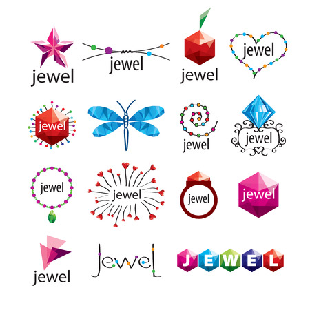 jewelry vector: collection of vector icons jewelry and fashion accessories