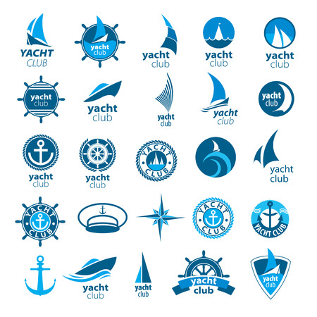 wind rose: biggest collection of vector icons marina Illustration
