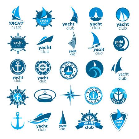 wind of rose: mayor colecci�n de vectores iconos de marina Vectores