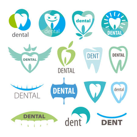 smile teeth: biggest collection of vector icons dentistry