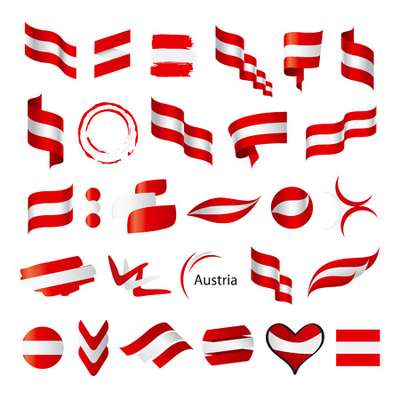 biggest: biggest collection of vector flag of Austria