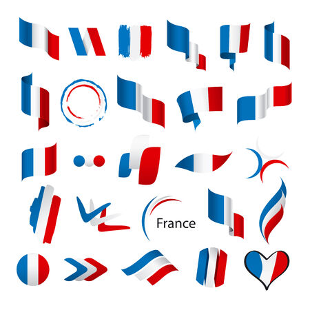 frenchman: biggest collection of vector flags of France