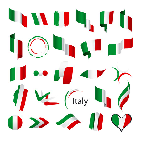 frenchman: biggest collection of vector flags of Italy