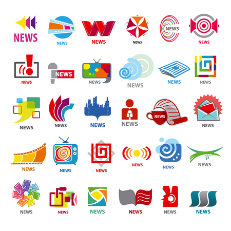 media distribution: biggest collection of vector icons news