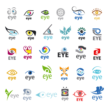 biggest collection of vector icons Eye Illustration