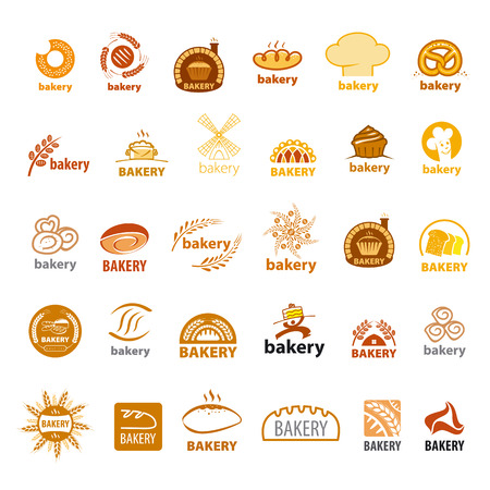 bake sale sign: biggest collection of vector icons bakery Illustration
