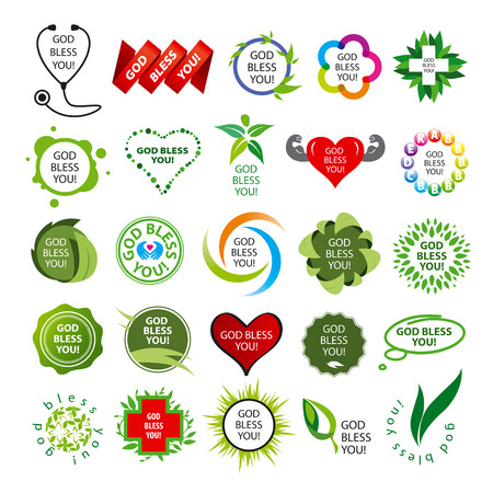 natural health: biggest collection of icons natural health