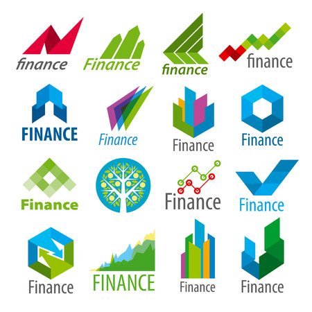 big set of vector icons Finance