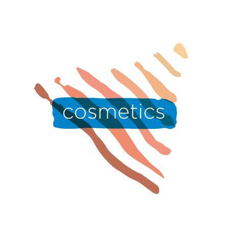 craze: Abstract vector icon pyramid for cosmetics