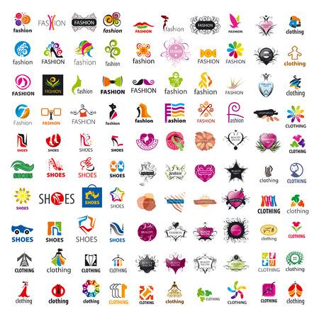 mode: grootste collectie van vector logo design en mode kleding