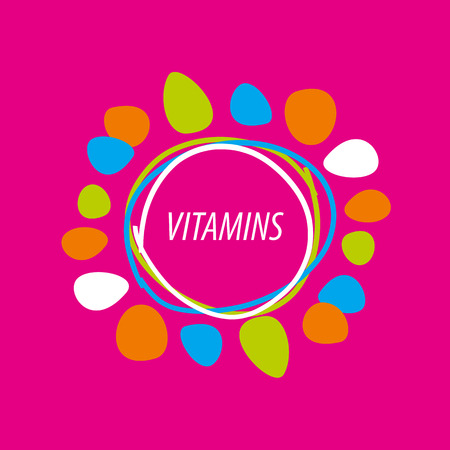 malpractice: vector abstract colored vitamins
