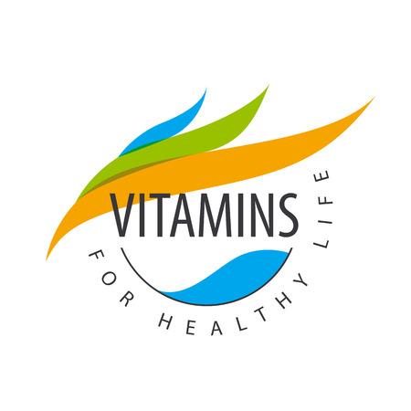 pilule: pétalos vitaminas vector de colores