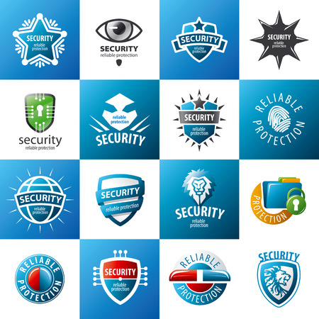 identity protection: biggest collection of vector  design protection Illustration