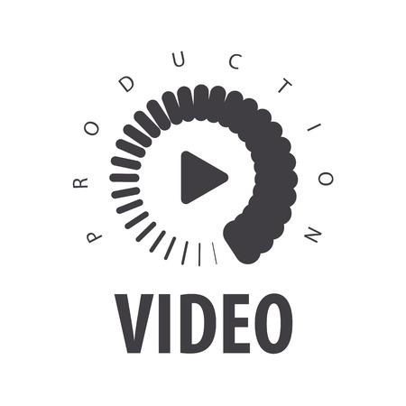 ビデオを表示するベクトル ロード 写真素材 - 40276685