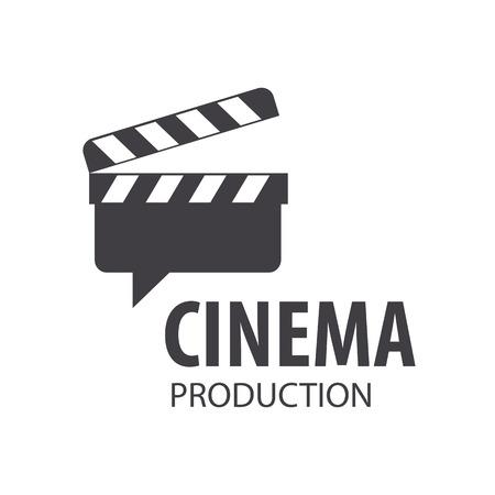 cine: vector Tarjeta de la pizarra para las películas de disparo Vectores