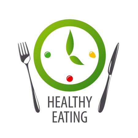 healthy eating: watches for healthy eating Illustration