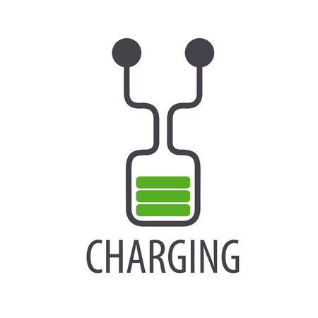 lading: vector  abstract battery charge
